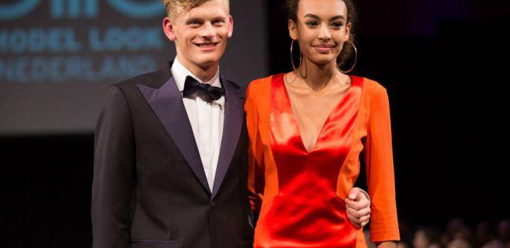 Namikka and Davey winners Elite Model Look 2014