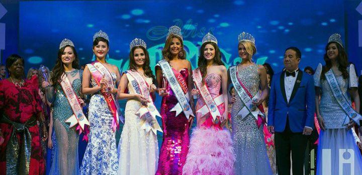 Charina is 3rd runner-up Miss Tourism International 2014