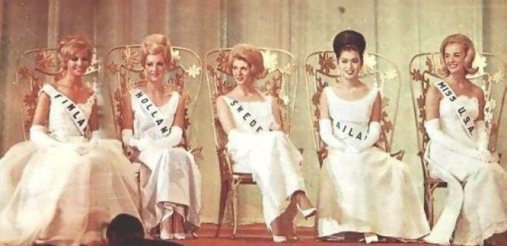 Miss Universe, the dutch girls….'65-'69