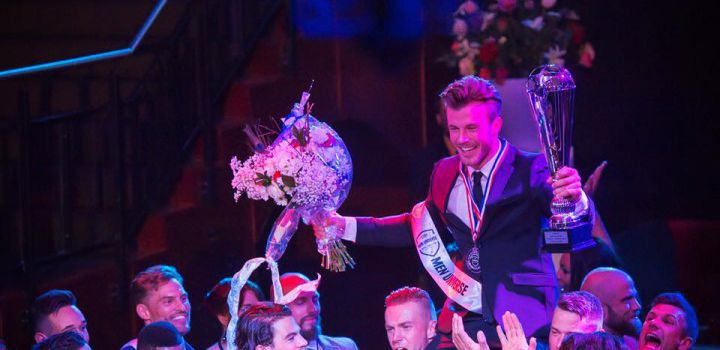 Rogier is Men Universe Netherlands 2015
