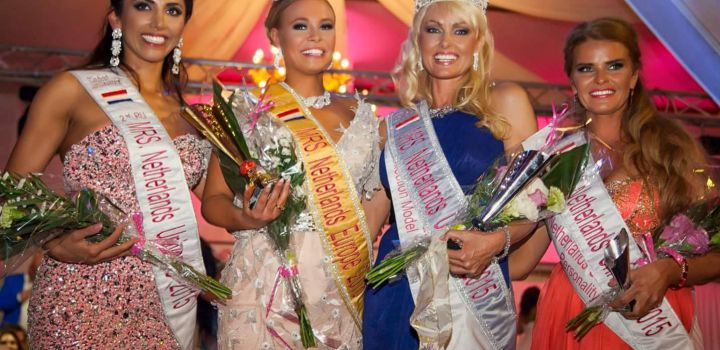 Sophia de Boer is Mrs Universe Netherlands 2015