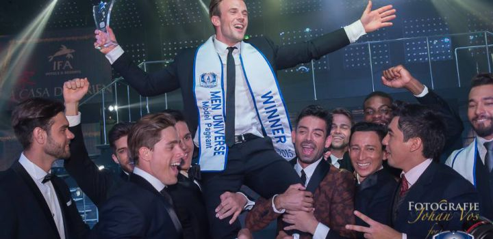 Rogier Warnawa wins Men Universe Model 2015….