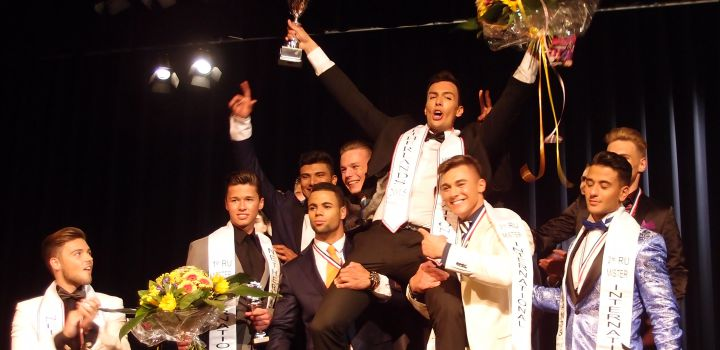 Cas Winters is Mister International Netherlands 2015….