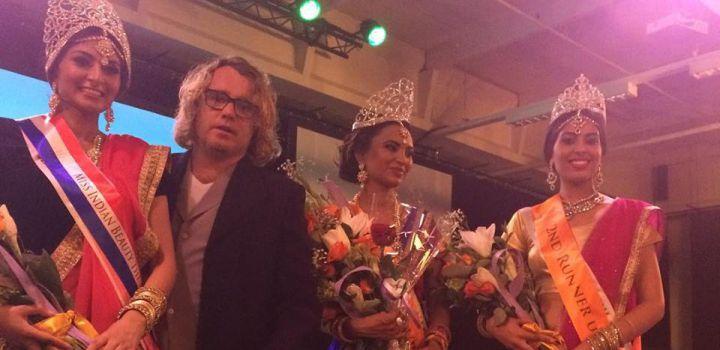 Soesoe Mustafa is Miss Indian Beauty the Netherlands 2015…