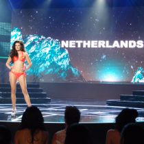 Shauny Bult made the top 20 at Miss Grand International 2015