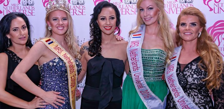 Nadine van Soest is Mrs Universe Netherlands 2016