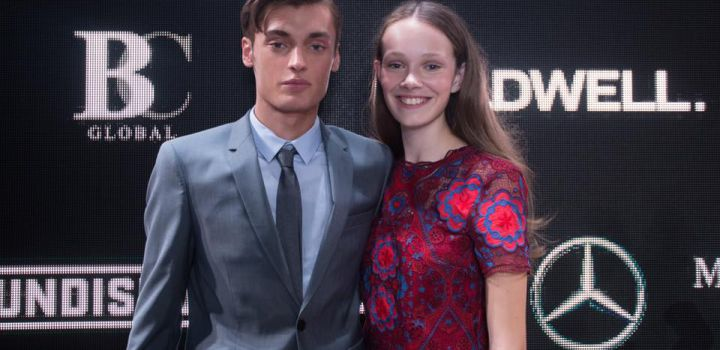 Joyce and Mickey win Elite Model Look 2016