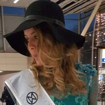 Rachelle has left for Miss World