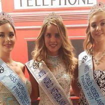 Miss Beauty of Zuid Holland and Miss World Zuid Holland