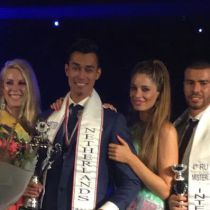 Jeremy Lensink is Mister International Netherlands 2017