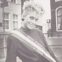 80's Saturday, Miss Fotomodel Holland 1988