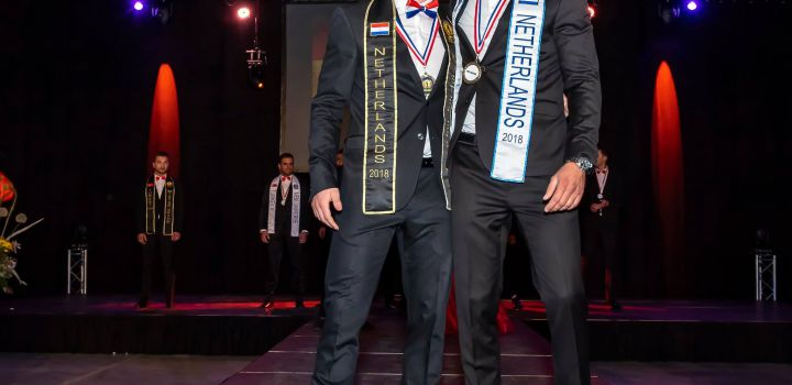 Mister Grand Netherlands 2018 and Men Universe Netherlands 2018