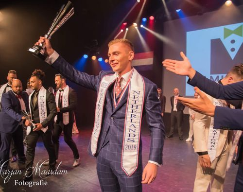 Marco Ooms is Mister International Netherlands 2019