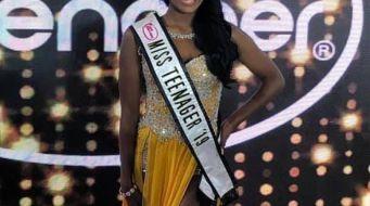 Shanty wins Miss Teenager 2019