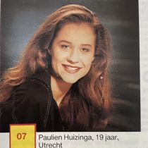 Queens in Zines, the 12 Miss Universe Netherlands 1991 candidates in Veronica