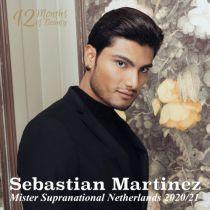 Mister Supranational Netherlands 2020/2021, Sebastian Martinez