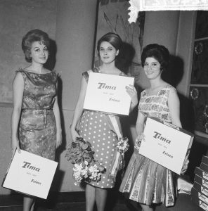 Top 3 Miss 1961