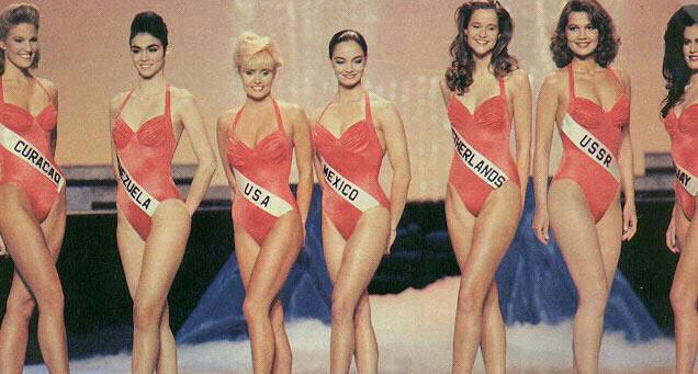 Miss Universe NL '91 | Miss Holland Now |